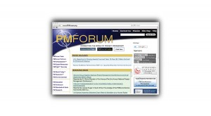PM Forum - Web Site