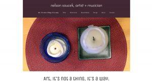 Artist Musician Nelson Soucek - Website