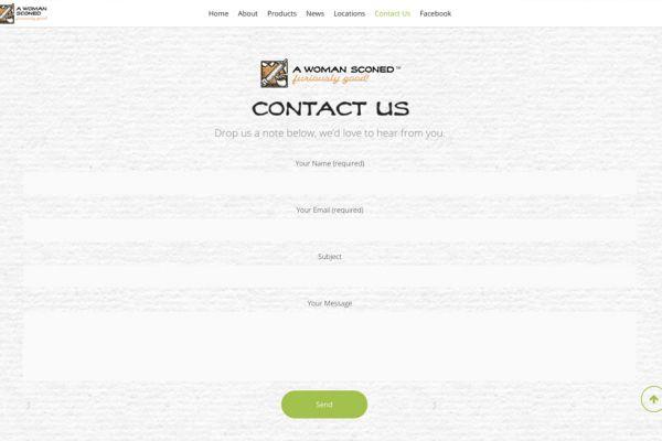 AWS Contact Screen - web
