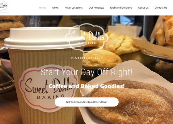SDB Home Screen - web