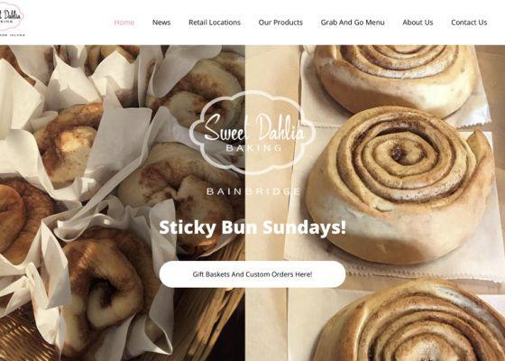 SDB Sticky Bun Screen - web