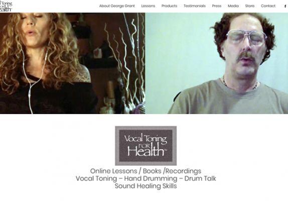 VTFH Home Screen - web
