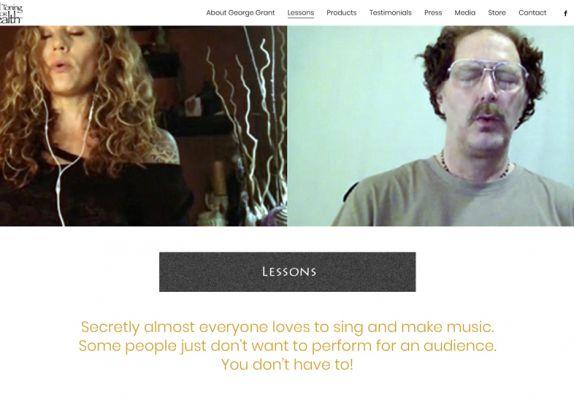 VTFH Lessons Screen - web